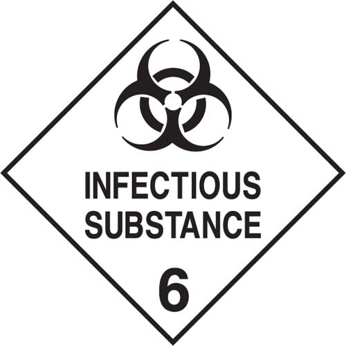 Gefahrgut-Etiketten, Klasse 6.2  Infectious substance