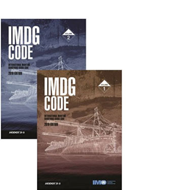 IMDG Code Amdt. 39-18 english version 2 volume set