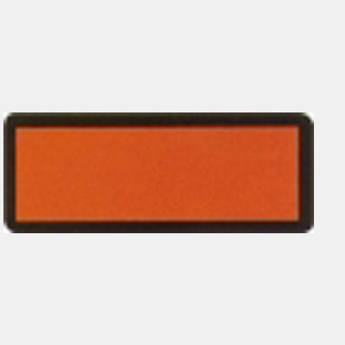Placard, orange neutral, für Container für UN Nr. IMDG 30x12 cm